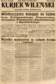 Kurjer Wileński : niezależny dziennik demokratyczny. 1935, nr248