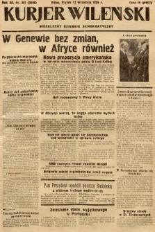 Kurjer Wileński : niezależny dziennik demokratyczny. 1935, nr251