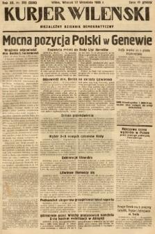 Kurjer Wileński : niezależny dziennik demokratyczny. 1935, nr255