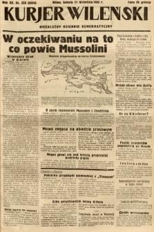 Kurjer Wileński : niezależny dziennik demokratyczny. 1935, nr259
