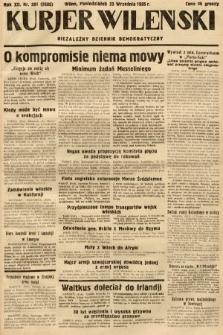Kurjer Wileński : niezależny dziennik demokratyczny. 1935, nr261