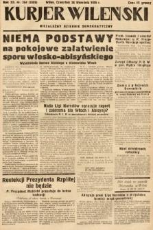Kurjer Wileński : niezależny dziennik demokratyczny. 1935, nr264