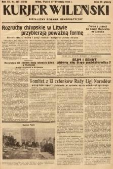 Kurjer Wileński : niezależny dziennik demokratyczny. 1935, nr265