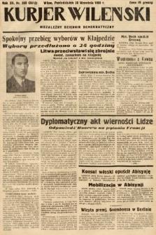 Kurjer Wileński : niezależny dziennik demokratyczny. 1935, nr268