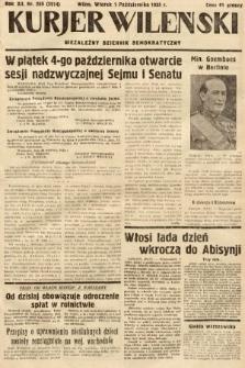 Kurjer Wileński : niezależny dziennik demokratyczny. 1935, nr269