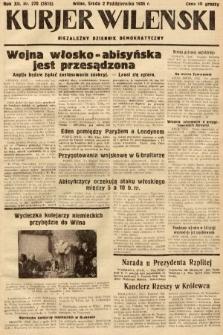 Kurjer Wileński : niezależny dziennik demokratyczny. 1935, nr270