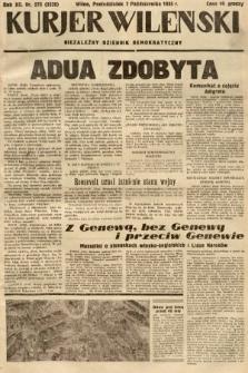 Kurjer Wileński : niezależny dziennik demokratyczny. 1935, nr275