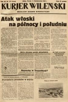 Kurjer Wileński : niezależny dziennik demokratyczny. 1935, nr279