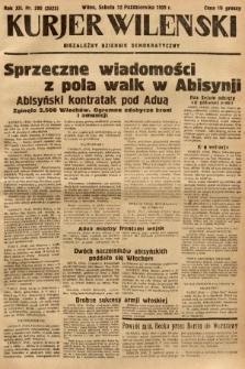 Kurjer Wileński : niezależny dziennik demokratyczny. 1935, nr280