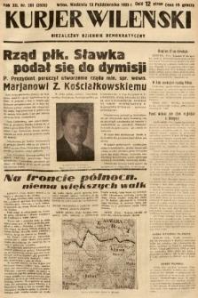 Kurjer Wileński : niezależny dziennik demokratyczny. 1935, nr281
