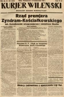 Kurjer Wileński : niezależny dziennik demokratyczny. 1935, nr282