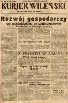 Kurjer Wileński : niezależny dziennik demokratyczny. 1935, nr283