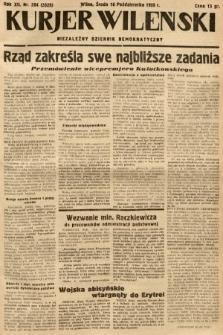 Kurjer Wileński : niezależny dziennik demokratyczny. 1935, nr284