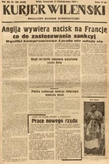 Kurjer Wileński : niezależny dziennik demokratyczny. 1935, nr285