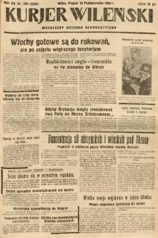 Kurjer Wileński : niezależny dziennik demokratyczny. 1935, nr286