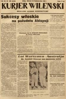 Kurjer Wileński : niezależny dziennik demokratyczny. 1935, nr290