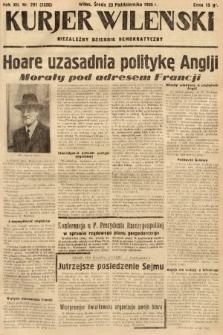 Kurjer Wileński : niezależny dziennik demokratyczny. 1935, nr291