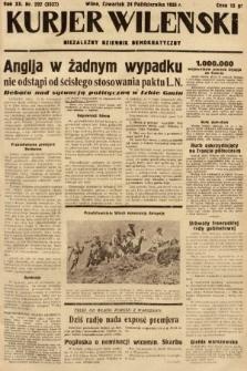 Kurjer Wileński : niezależny dziennik demokratyczny. 1935, nr292