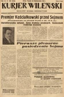 Kurjer Wileński : niezależny dziennik demokratyczny. 1935, nr293