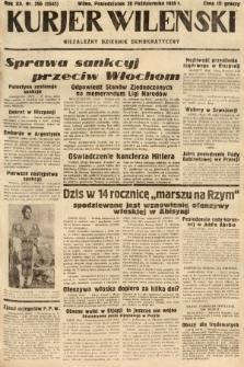 Kurjer Wileński : niezależny dziennik demokratyczny. 1935, nr296
