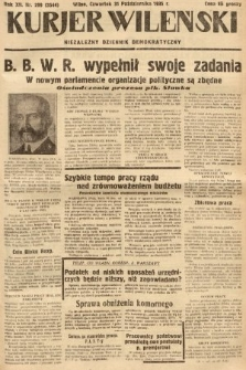 Kurjer Wileński : niezależny dziennik demokratyczny. 1935, nr299