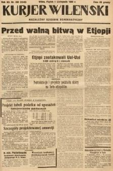 Kurjer Wileński : niezależny dziennik demokratyczny. 1935, nr300