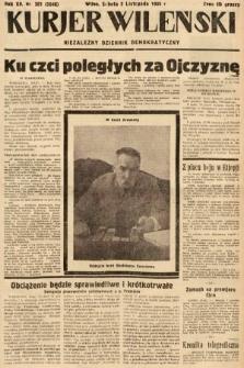 Kurjer Wileński : niezależny dziennik demokratyczny. 1935, nr301