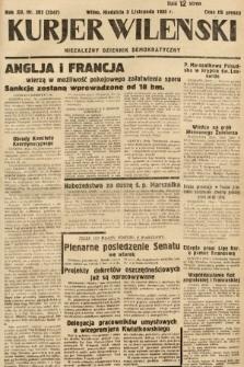 Kurjer Wileński : niezależny dziennik demokratyczny. 1935, nr302