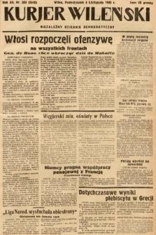 Kurjer Wileński : niezależny dziennik demokratyczny. 1935, nr303