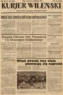 Kurjer Wileński : niezależny dziennik demokratyczny. 1935, nr304