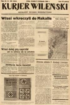 Kurjer Wileński : niezależny dziennik demokratyczny. 1935, nr308