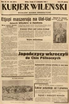 Kurjer Wileński : niezależny dziennik demokratyczny. 1935, nr326