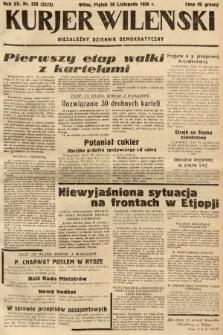 Kurjer Wileński : niezależny dziennik demokratyczny. 1935, nr328
