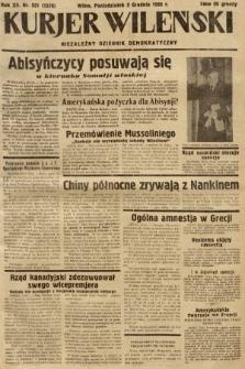 Kurjer Wileński : niezależny dziennik demokratyczny. 1935, nr331