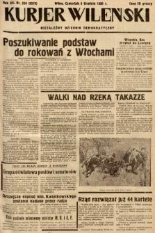 Kurjer Wileński : niezależny dziennik demokratyczny. 1935, nr334