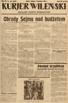 Kurjer Wileński : niezależny dziennik demokratyczny. 1935, nr336