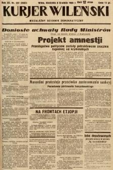Kurjer Wileński : niezależny dziennik demokratyczny. 1935, nr337