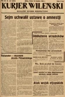 Kurjer Wileński : niezależny dziennik demokratyczny. 1935, nr347