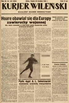 Kurjer Wileński : niezależny dziennik demokratyczny. 1935, nr349