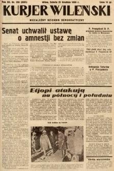 Kurjer Wileński : niezależny dziennik demokratyczny. 1935, nr350