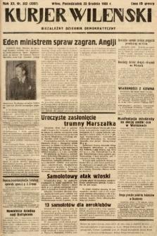 Kurjer Wileński : niezależny dziennik demokratyczny. 1935, nr352