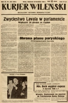 Kurjer Wileński : niezależny dziennik demokratyczny. 1935, nr356