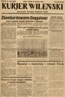 Kurjer Wileński : niezależny dziennik demokratyczny. 1935, nr358