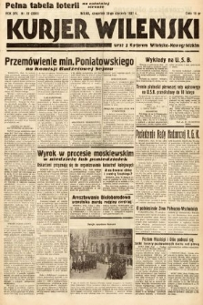 Kurjer Wileński wraz z Kurjerem Wileńsko-Nowogródzkim. 1937, nr27