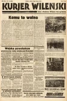 Kurjer Wileński wraz z Kurjerem Wileńsko-Nowogródzkim. 1937, nr43