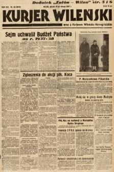 Kurjer Wileński wraz z Kurjerem Wileńsko-Nowogródzkim. 1937, nr56