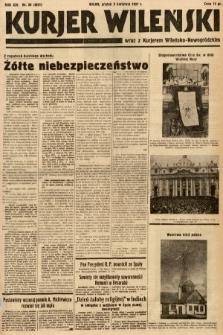 Kurjer Wileński wraz z Kurjerem Wileńsko-Nowogródzkim. 1937, nr89