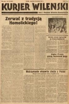 Kurjer Wileński wraz z Kurjerem Wileńsko-Nowogródzkim. 1937, nr95