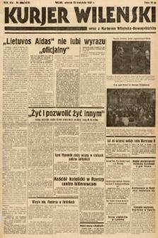 Kurjer Wileński wraz z Kurjerem Wileńsko-Nowogródzkim. 1937, nr100