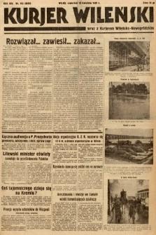 Kurjer Wileński wraz z Kurjerem Wileńsko-Nowogródzkim. 1937, nr102